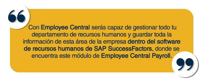 que es employee central payroll_quote